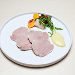 Trattoria La Cenro - 料理写真:TOKYO X 豚 の自家製ハム プロシュートコット