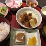 やひろ丸 新橋港 - カキフライ定食