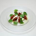 Trattoria La Cenro - 料理写真:自家製ドライトマトのカプレーゼ