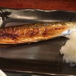 まま屋 - 秋刀魚の艶感…