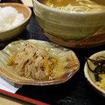 京都仕込みのかれーうどん 椿 - +100円の定食セット