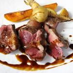 ル ベナトン - 猪ロースのステーキ