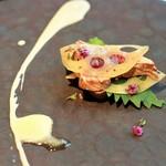 小前菜2品+メイン ディナーコース ※季節により前菜メニュー変更しております。