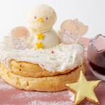 キキ&ララのゆきだるまパンケーキ