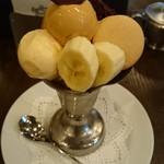 タンブラン - チョコパフェ