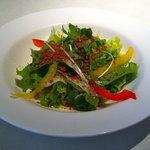 ジョリーパスタ - ドリンクバーとサラダセットのサラダ