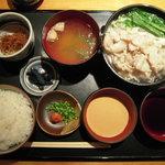 水ひき亭 - おまかせ定食