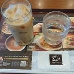 カフェ ド クリエ - アイスカフェラテ¥330-