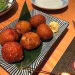 産直の魚貝と日本酒・焼酎 和バル 三茶まれ - さつま揚げ