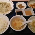 94397321 - 茹で餃子定食。