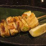長次郎   - 太刀魚串焼き