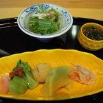 旬魚旬菜 むらおか - 八寸・サラダ・和え物