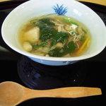 旬魚旬菜 むらおか - 煮物(小芋と野菜あんかけ)