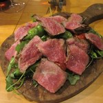 SOYA - 宮崎県尾崎牛のタリアータ たっぷりの農園野菜と