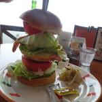 まきばレストラン - ジャンボバーガー