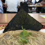 寿製麺 よしかわ - 美味しい海苔(大つけ麺博2018第2陣)