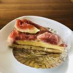 コレクション ドゥ ショウタニ - 料理写真:フレッシュな無花果たっぷり。美味しかったですよ!