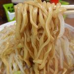 ラーメン二郎 - ラーメン小ニンニク(700円)