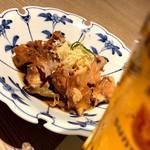 近畿大学水産研究所 - 鮮魚のあら炊き(お通し)