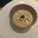 94407508 - 前菜 マッシュルームのスープ