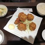 食全食美 - 鶏もも肉の唐揚げセット