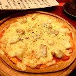 和洋居酒屋 酒花月 - シーフードピザ
