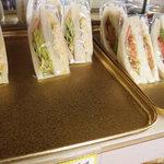 るぱん - ㊨野菜(トマト)サンド♪220円