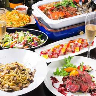 肉バル&オイスター&ビストロ鍋&イタリアン
