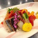 気仙沼ホテル観洋 - 料理写真:刺し盛りは普通