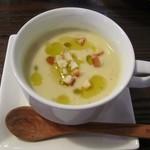 カメレオン食堂 - ランチ の setスープ(さつまいものポタージュ)