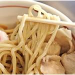 つけめん 蜩 - 食べ応えのある太麺。