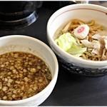 つけめん 蜩 - 料理写真:ガーリック塩つけ麺 880円 ガツンとしたパンチのあるつけ麺です。