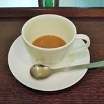 上島珈琲店 - 砂糖、ミルク投入