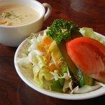 グルメ - 料理写真:サラダ&スープ