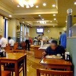ホテルルートイン - 朝食会場(2011年9月)