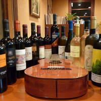 オステリア・マンジャベーネ - オーナーが厳選したおすすめイタリアワインを多く揃えております!