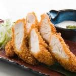 福味鶏ささみ肉のサクサクフライ~刻みわさびクリーム~