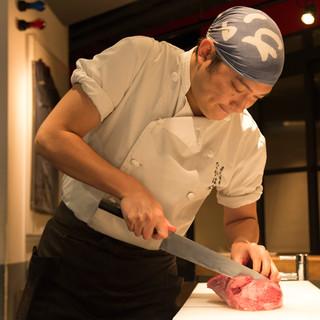 中原健太郎氏(ナカハラケンタロウ)─愚直に肉と向き合い続ける