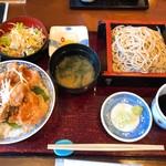 香露庵 - ぞばと丼のセット 丼も美味い!