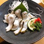 しみず - 料理写真:ウツボの湯引き