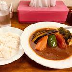 スープカレー カムイ - チキン野菜カレー