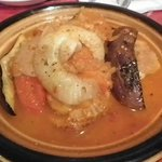 クスクス - タジン鍋はトマト味