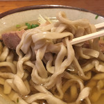 てぃしらじそば - 沖縄そば 麺リフト(てぃしらじそば) 2018.10
