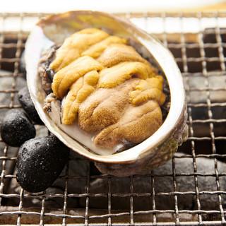 """海里村上 - 料理写真:名物""""海里焼き"""""""