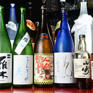 """大将の目利きで仕入れる""""日本酒""""◇全国各地の銘柄を週替わりで"""