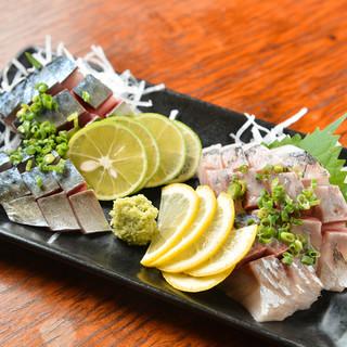 """オーナー自ら厳選◆当日仕入れる""""鮮魚""""を一番美味しい形で堪能"""
