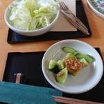 啖啖茶館 - 料理写真:お食事最初のお野菜