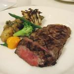 ポピースプリングス - 料理写真:美咲姫牛ロース肉の網焼き