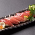 マグロの握り寿司(五貫)