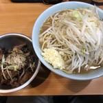 ラーメン二郎 - 料理写真:【2018.10.3】小ラーメン780+炙崩豚100円